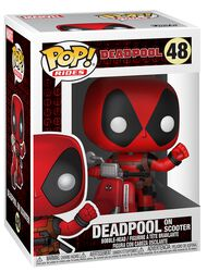 Deadpool on Scooter Vinyl Figur 48