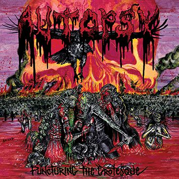 Image of Autopsy Puncturing the grotesque EP-CD Standard