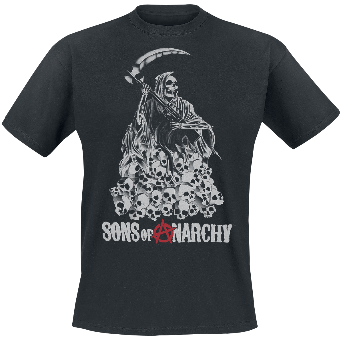 Sons Of Anarchy - Skull Reaper - T-Shirt - black image