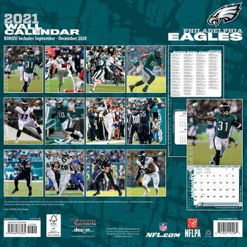 Philadelphia Eagles - Kalender 2021