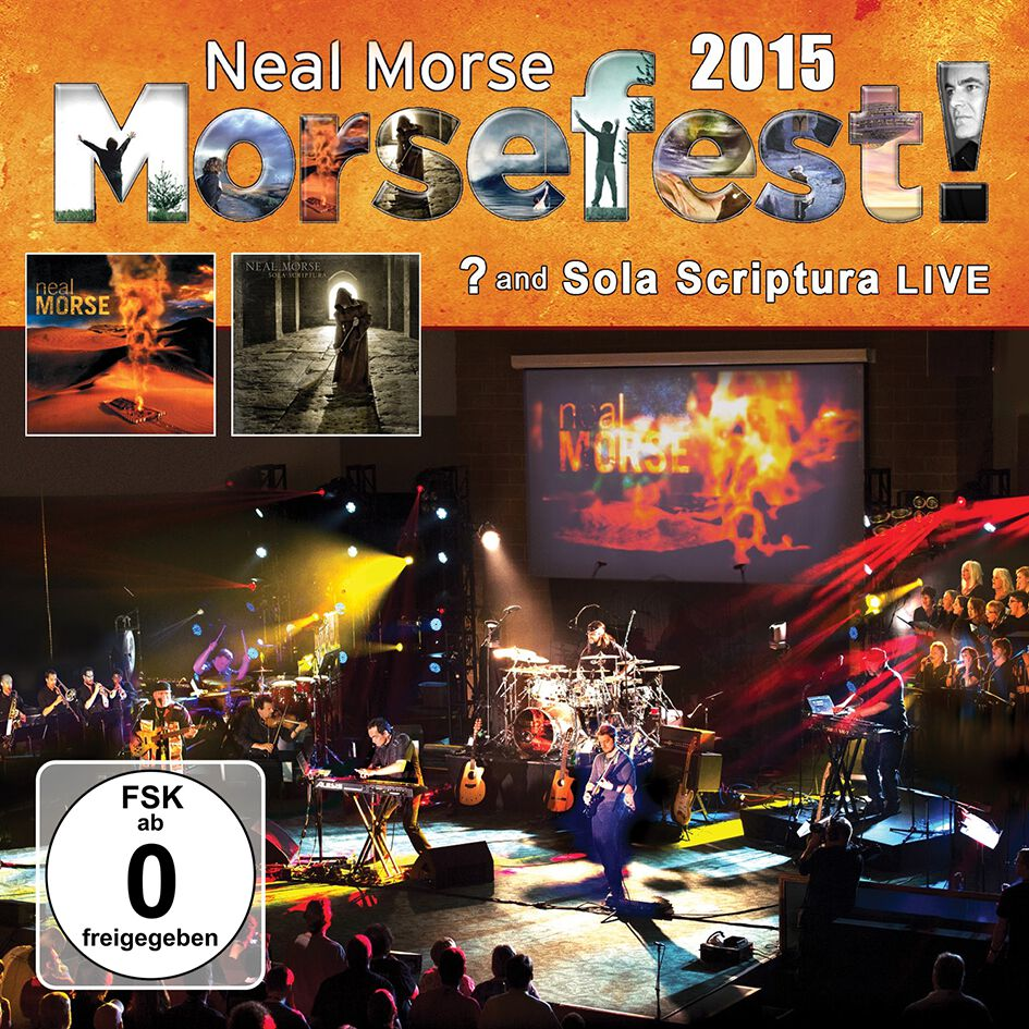 Image of Neal Morse Morsefest 2015 Sola Scriptura and ? Live 4-CD & 2-DVD Standard