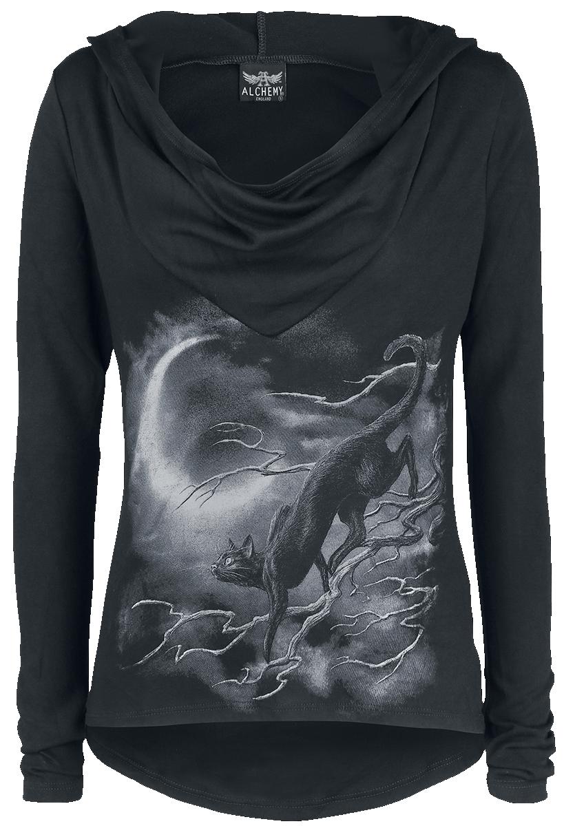 Alchemy England - Deva Minnaloushe - Girls hooded sweatshirt - black image