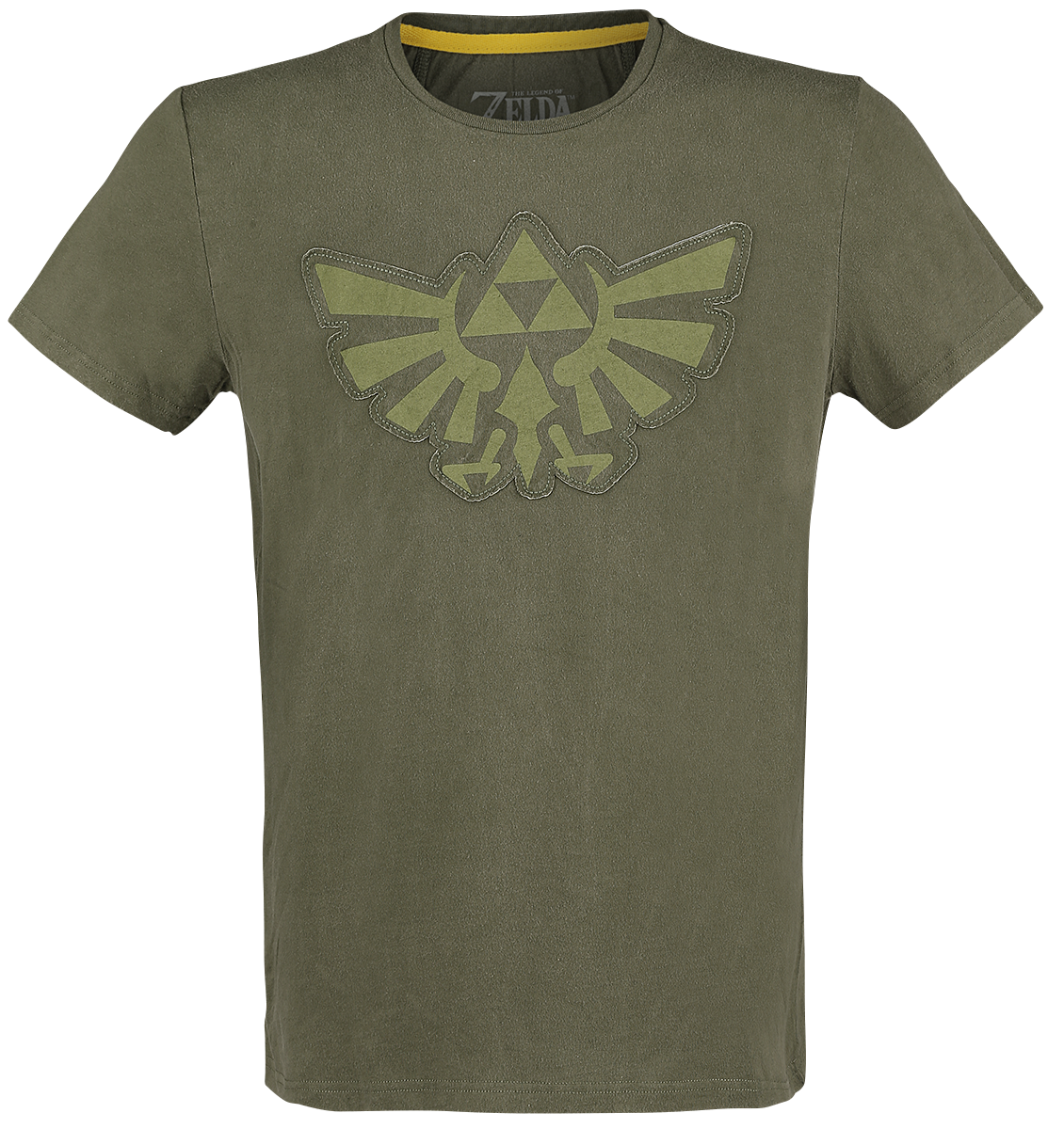The Legend Of Zelda - Wingcrest - Triforce - T-Shirt - green image