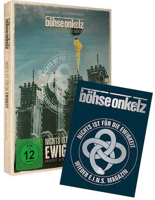 Image of Böhse Onkelz Nichts ist für die Ewigkeit - Live am Hockenheimring 2014 2-DVD & Magazin Standard