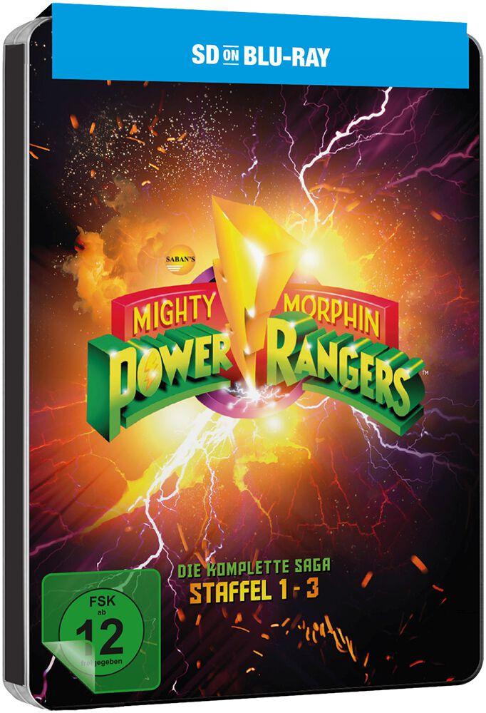 Image of Mighty Morphin Power Rangers Die komplette Saga Staffel 1-3 6-Blu-ray Standard