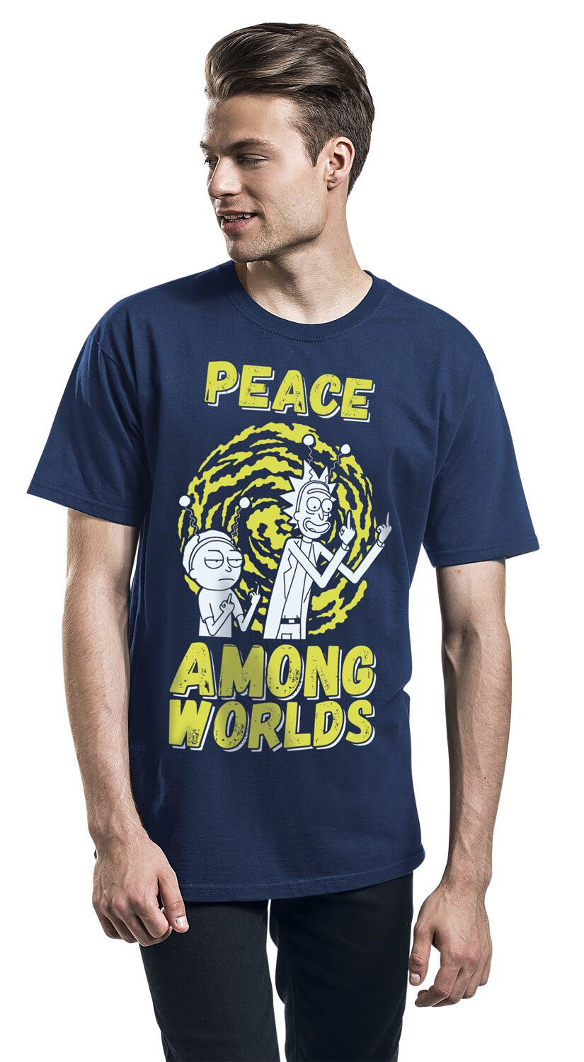 Peace Among Worlds | Rick And Morty T-Shirt | EMP