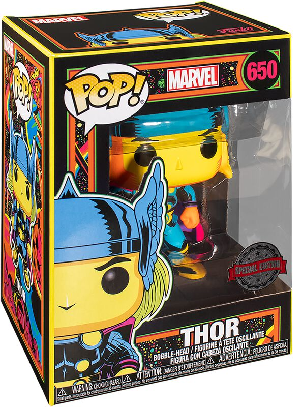 Black Light - Thor Vinyl Figur 650