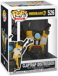 3 - Claptrap (Distressed) Vinyl Figure 526