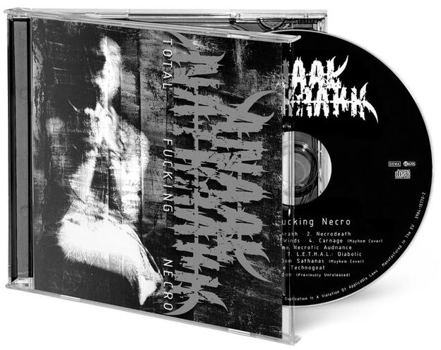 Image of Anaal Nathrakh Total fucking necro CD Standard