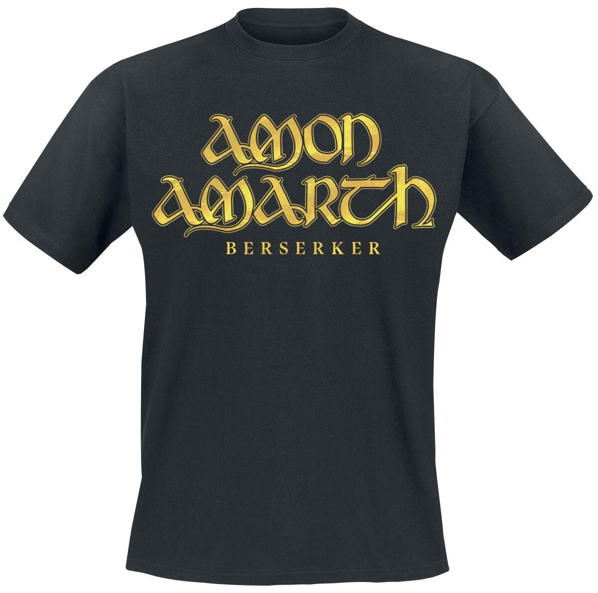 Image of Amon Amarth Berserker - Cover T-Shirt schwarz