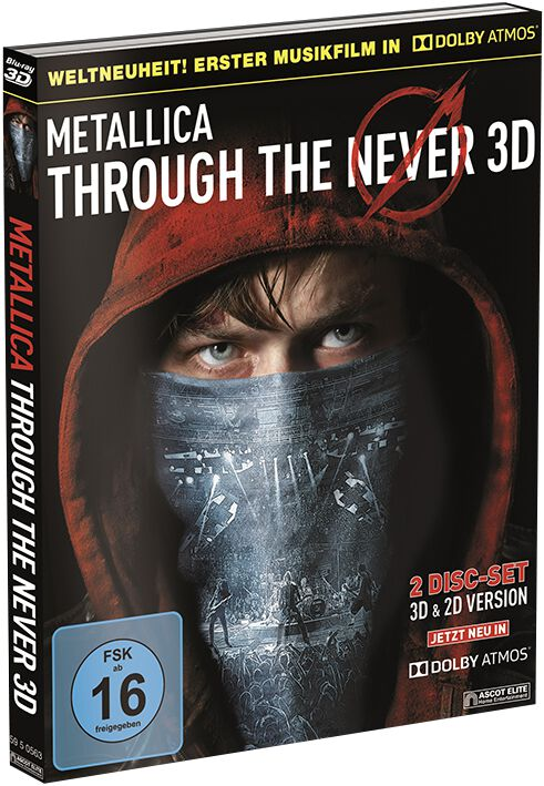 Image of Metallica Through the Never – Dolby Atmos Blu-ray 3D & DVD Standard