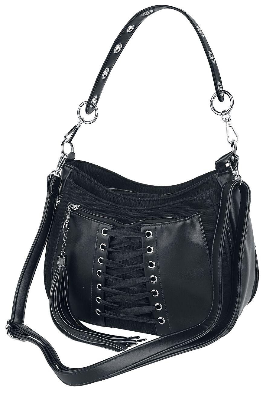 Handtaschen für Frauen - Banned Alternative Lacing Bag Handtasche schwarz  - Onlineshop EMP