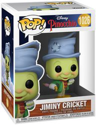 80th Anniversary - Jiminy Cricket Vinyl Figur 1026