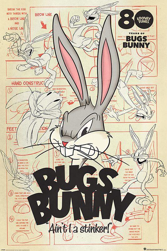 Bugs Bunny Aint I a Stinker