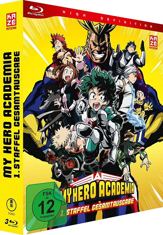 Image of My Hero Academia Staffel 1 - Gesamtausgabe 3-Blu-ray Standard