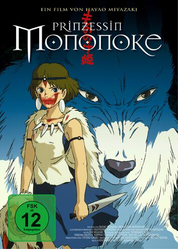 Prinzessin Mononoke Studio Ghibli - Prinzessin Mononoke DVD multicolor 82876563979