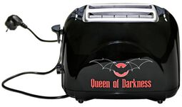 Toaster mit Queen of Darkness Logo
