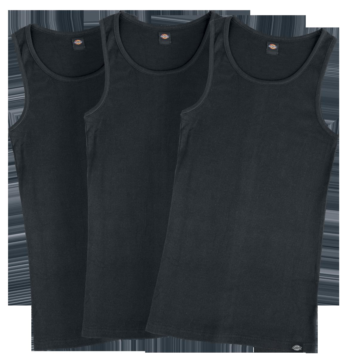 Dickies - Proof Pack 3-Pack - Tanktop - black image