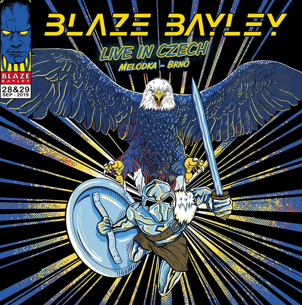 Bayley, Blaze Live in Czech CD multicolor BBRCD016