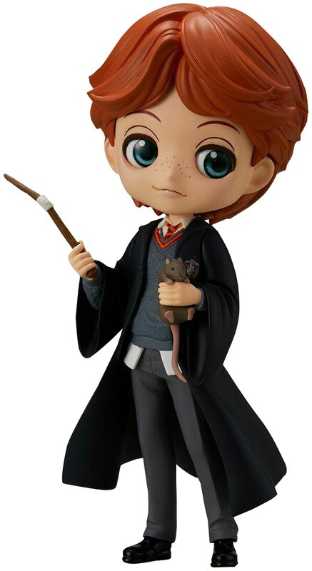 Ron Weasley with Scabbers - Q-Posket Figur