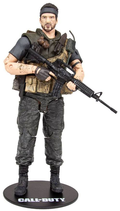 Image of Call Of Duty Black Ops 4 - Frank Woods Actionfigur multicolor