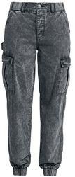 Washed Cargo Pants