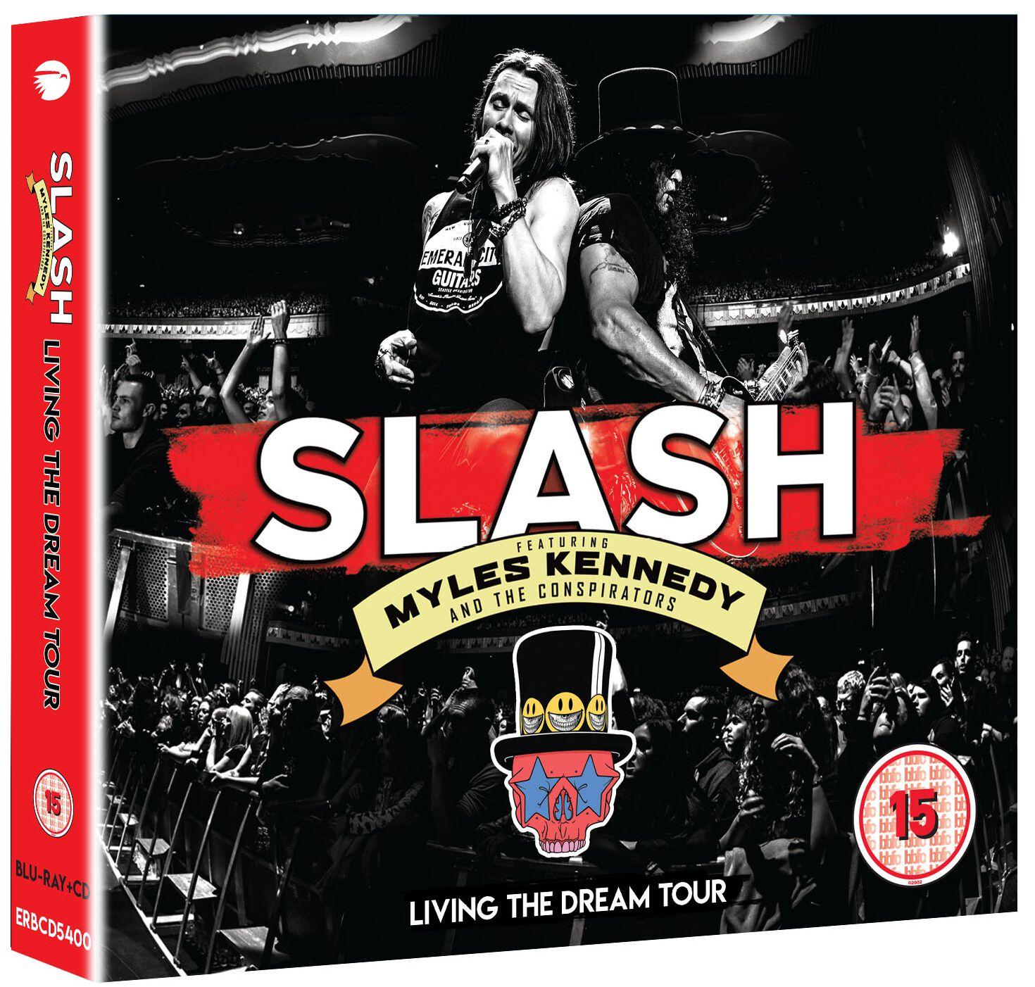 Image of Slash Living The Dream Tour 2-CD & Blu-ray Standard