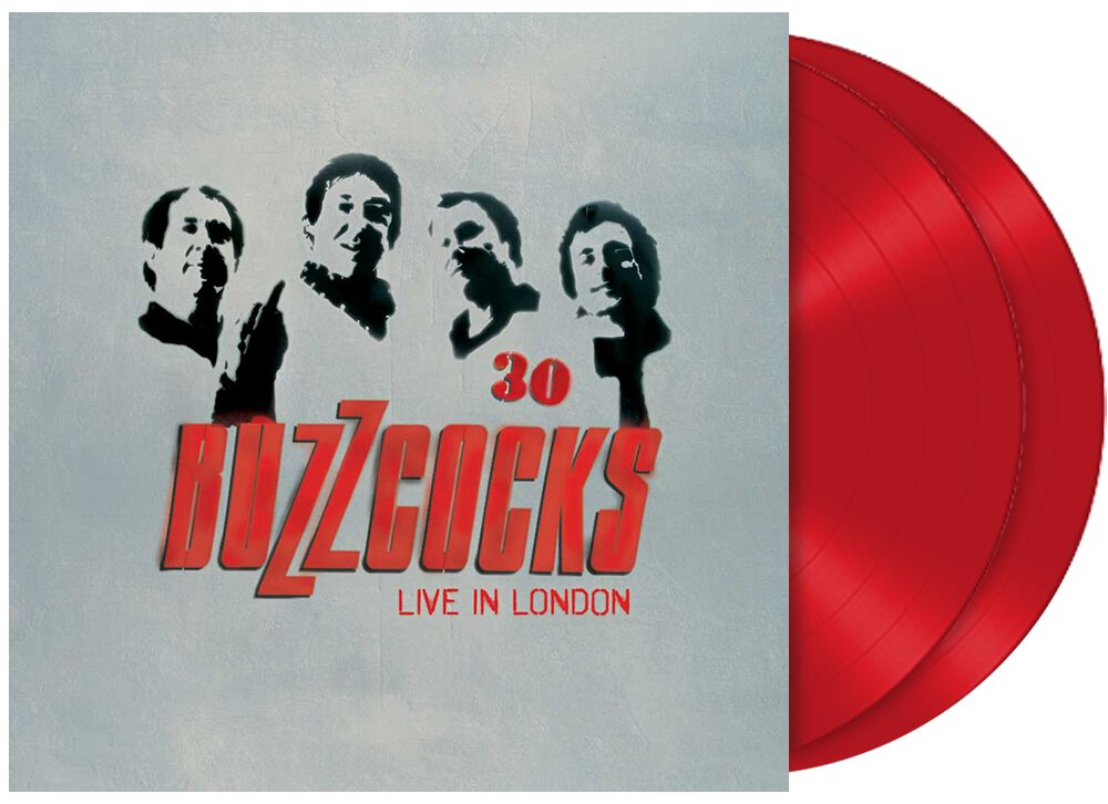 Buzzcocks  30 - Live in London  2-LP  rot