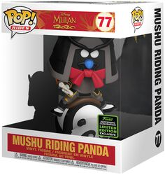 ECCC 2020 - Mushu Riding Panda (POP Rides) Vinyl Figur 77