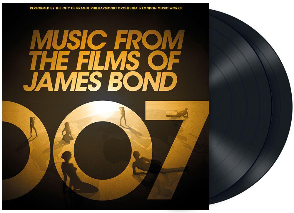 James Bond Music from the films of James Bond LP multicolor DFLP7