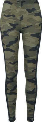 Ladies Camo Stripe Leggings