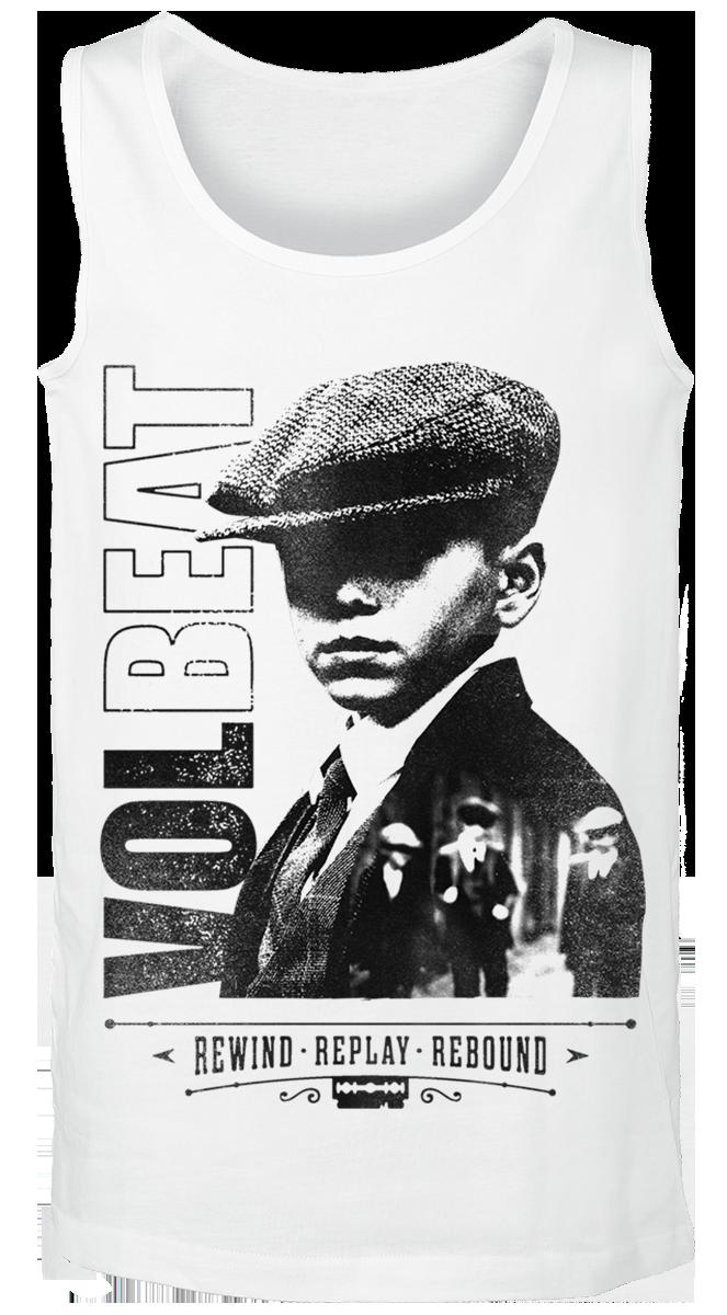 Volbeat - Bad Boys - Tanktop - white image