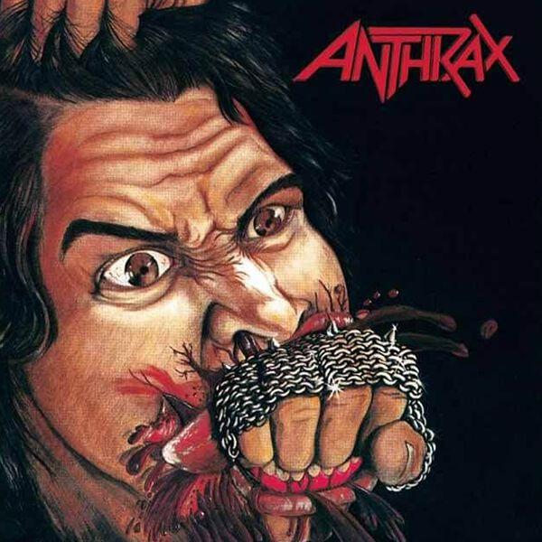 Image of Anthrax Fistful of Metal LP splattered