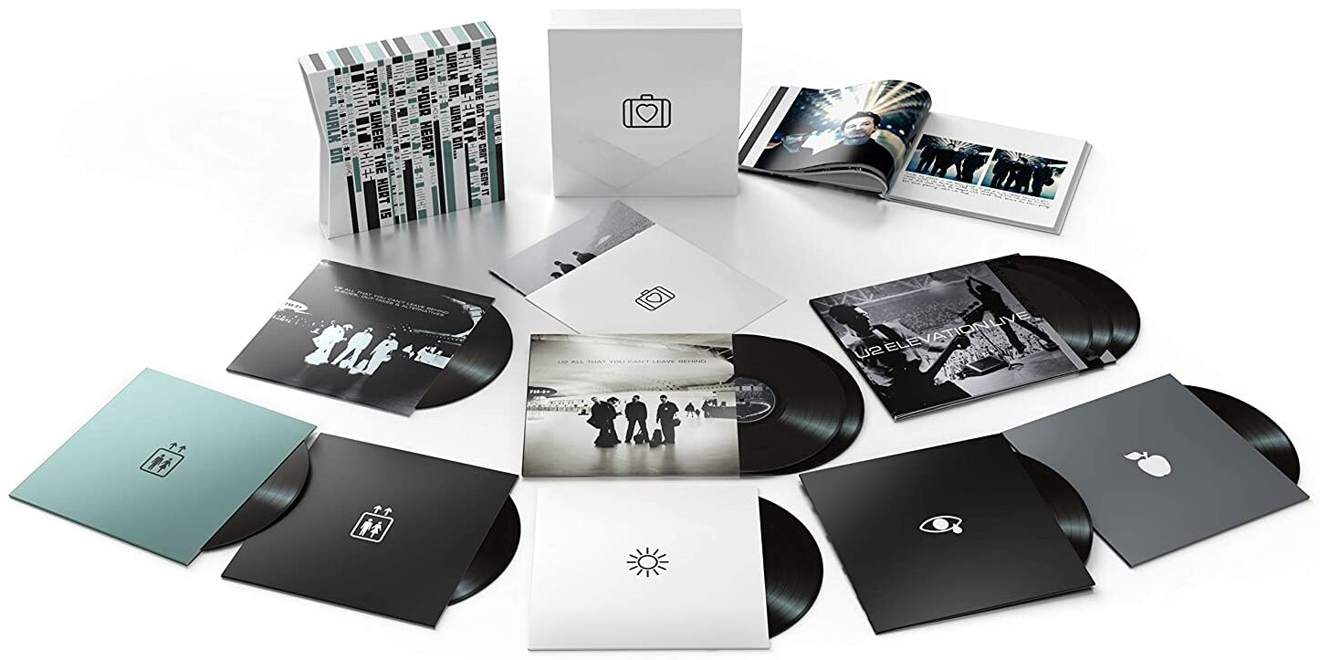 Image of U2 All that you can't leave behind (20th Anniversary Edition) 11-LP Standard