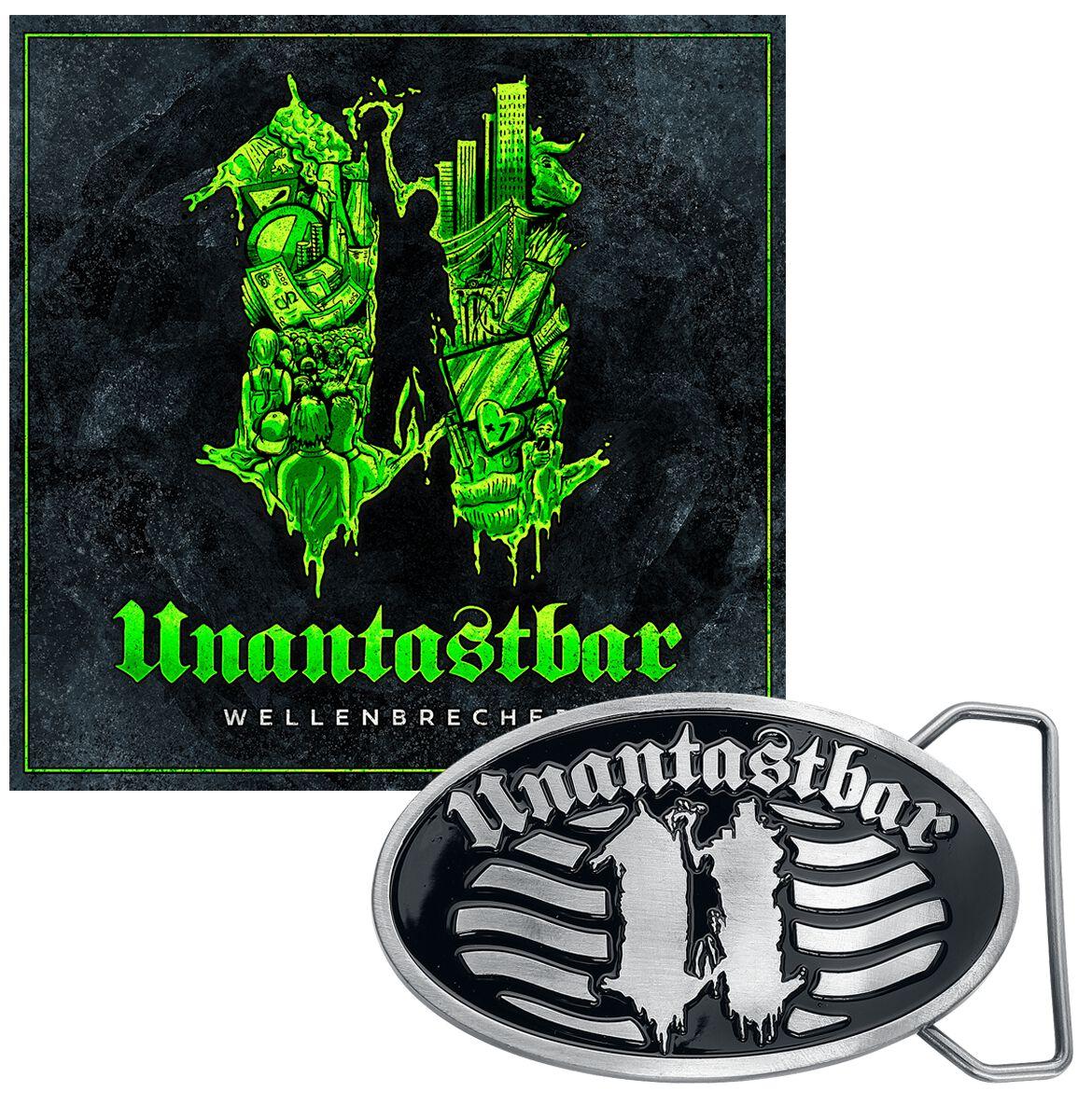 Image of Unantastbar Wellenbrecher CD & Gürtelschnalle Standard