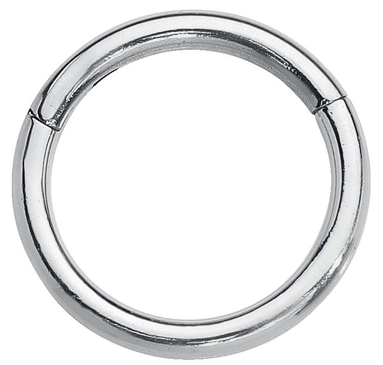 Wildcat - Segmentring mit Scharnier - Ring - silberfarben