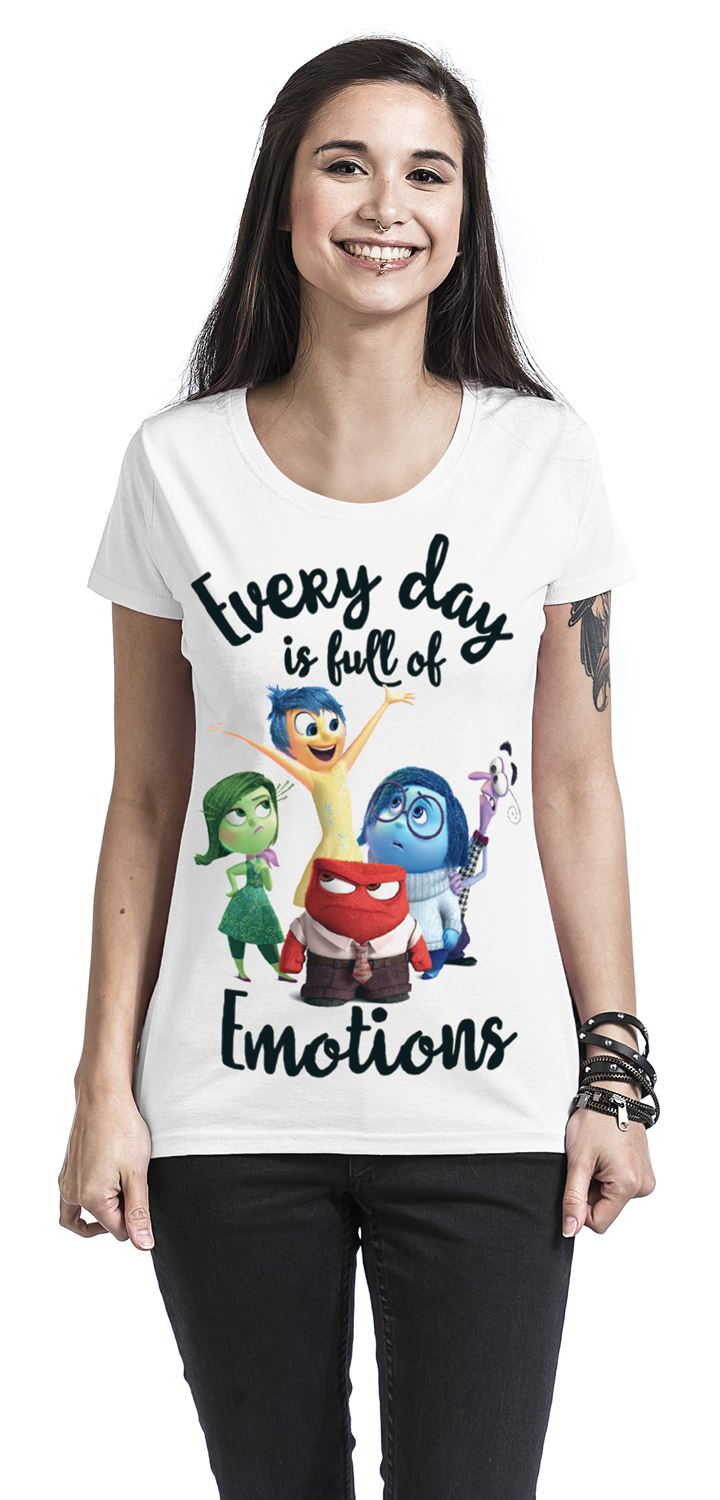 Image of Alles steht Kopf Every Day Girl-Shirt weiß