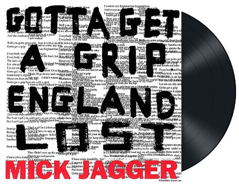 Image of Jagger, Mick Gotta get a grip / England lost 12 inch-Single Standard