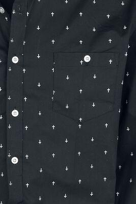 Hemd mit Alloverprint
