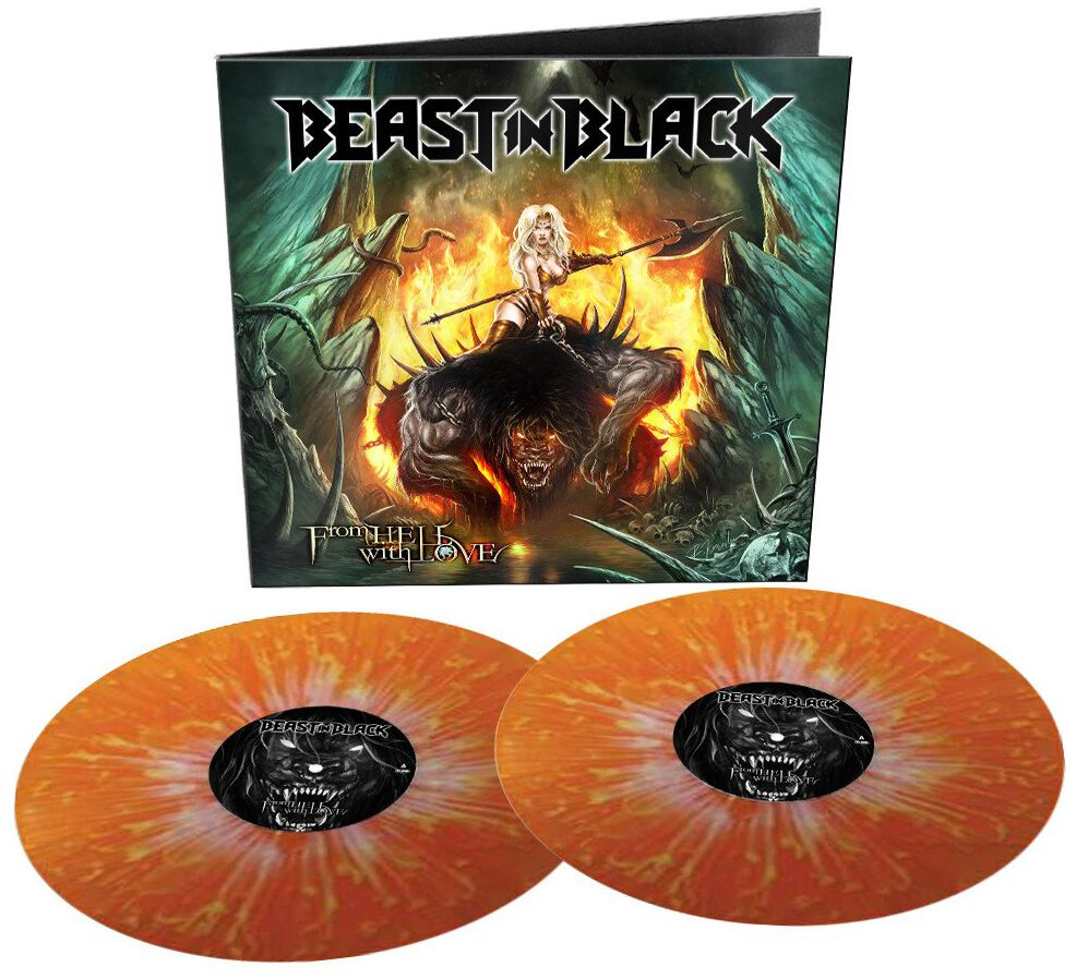 Image of Beast In Black From hell with love 2-LP farbig