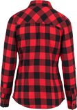 Ladies Turnup Checked Flanell Shirt