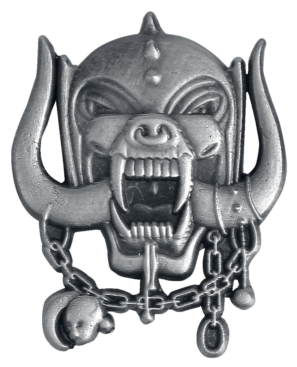 Motörhead - Metal Warpig - Pin - grau