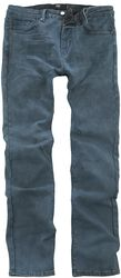 Jared - blaugraue Jeans mit individueller Waschung