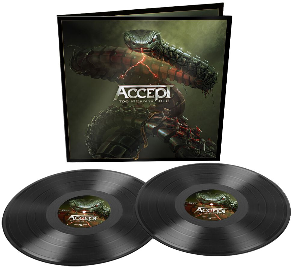 Image of Accept Too mean to die 2-LP Standard