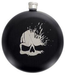 Skull Logo - Flachmann