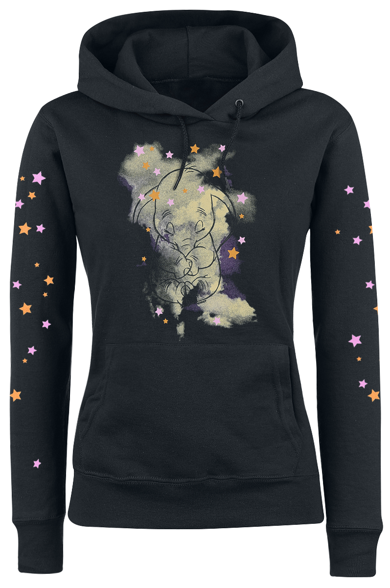 Dumbo - Dreamin' - Girls hooded sweatshirt - black image
