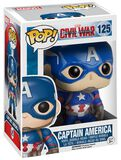 Captain America Vinyl Bobble-Head 125