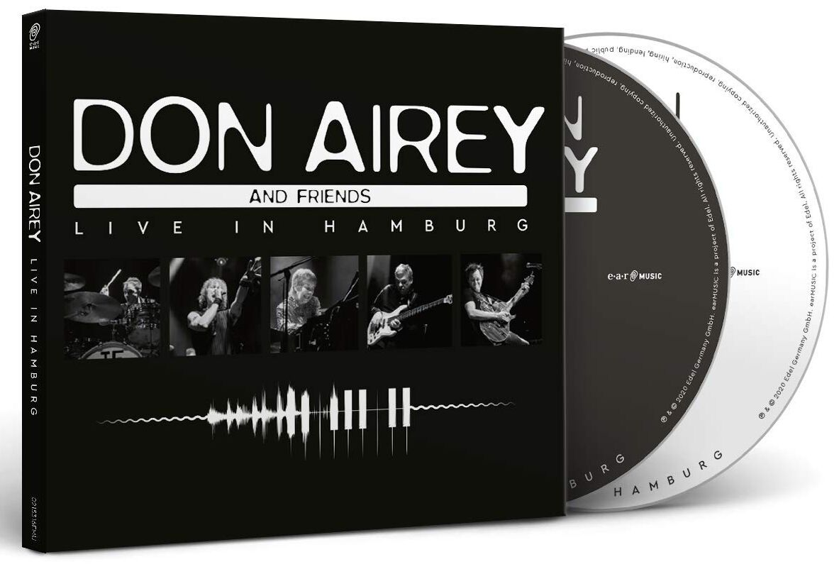 Image of Airey, Don Live in Hamburg 2-CD Standard