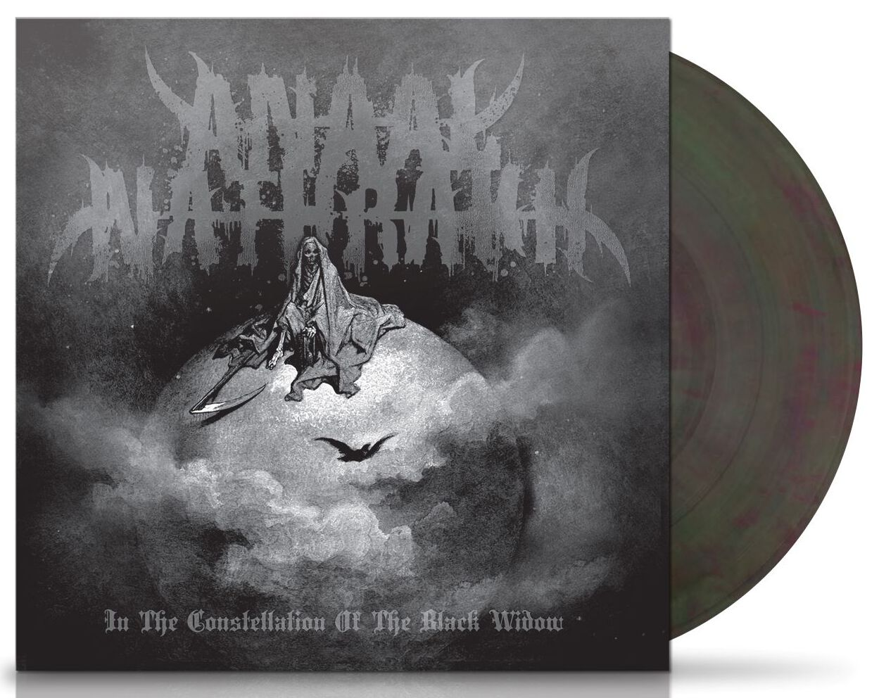 Image of Anaal Nathrakh In the constellation of the black widow LP marmoriert
