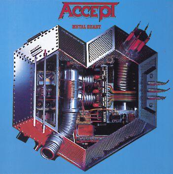 Image of Accept Metal heart CD Standard